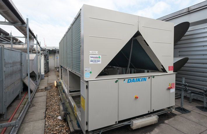Replacement of old chillers