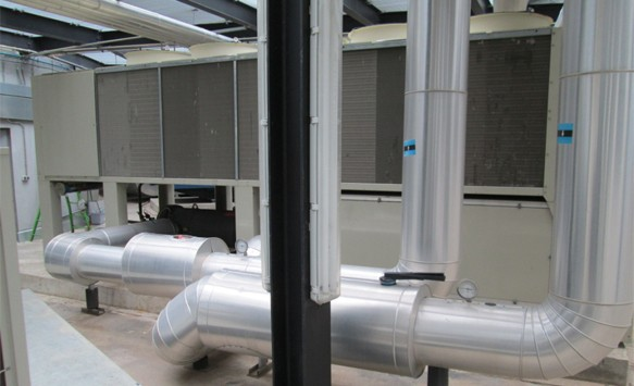 Daikin installation at the hotel